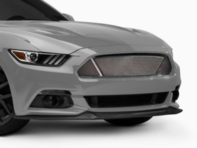 T-REX Upper Class Series Overlay Mesh 3-Window Grille - Combo - Polished (15-17 GT)