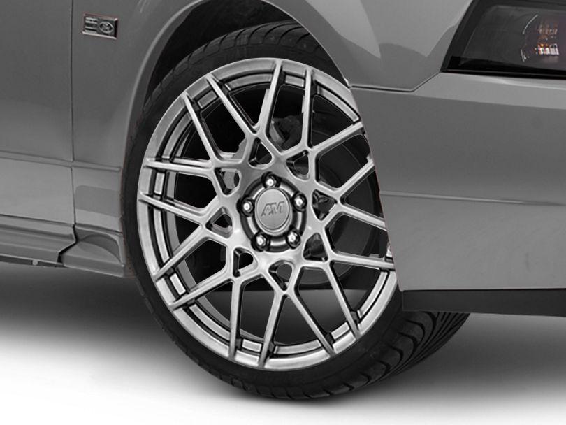 2013 GT500 Style Hyper Dark Wheel; 20x8.5 (99-04 All)
