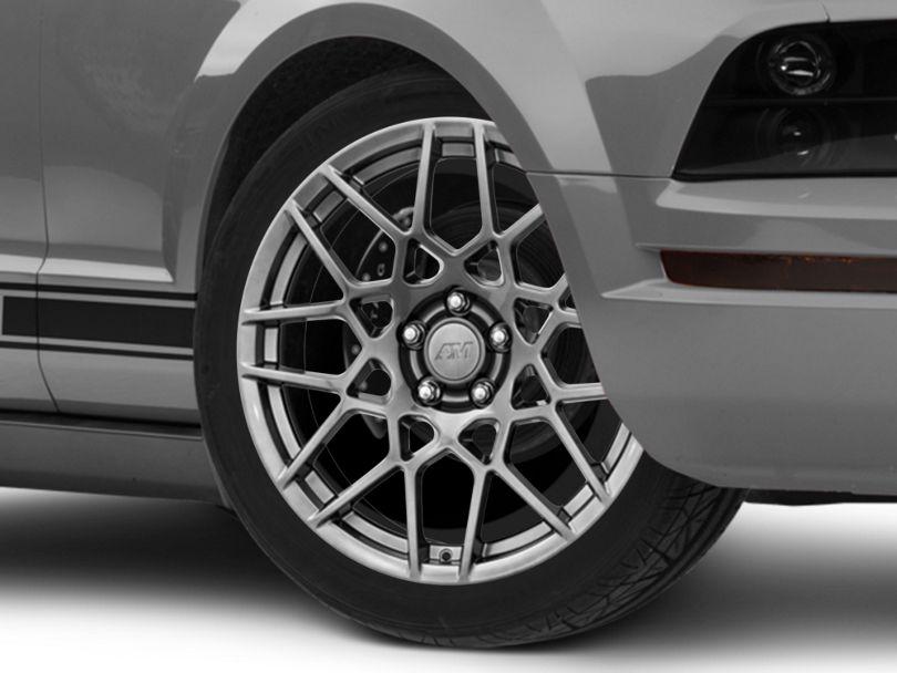 2013 GT500 Style Hyper Dark Wheel; 19x9.5 (05-09 All)