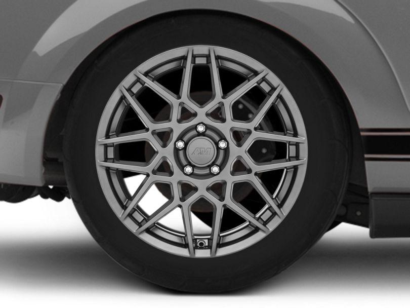 2013 GT500 Style Hyper Dark Wheel - 19x10 - Rear Only (05-09 All)