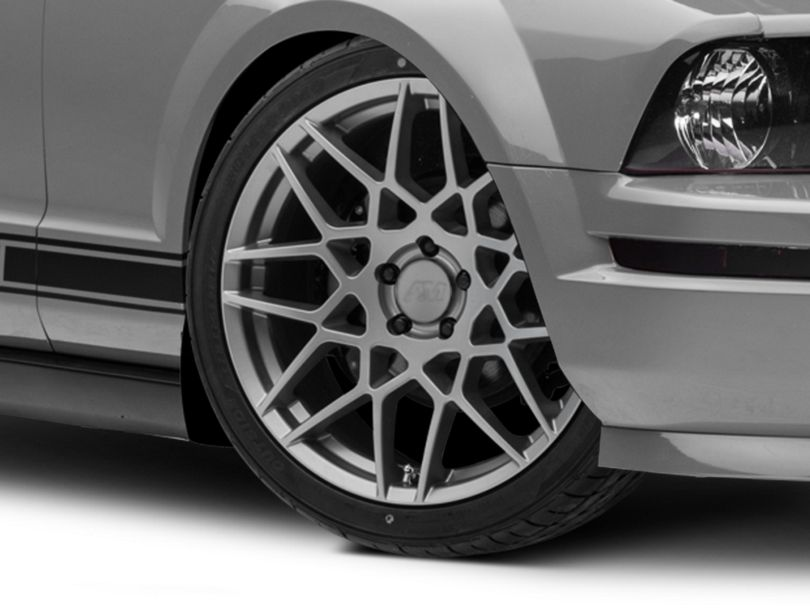 2013 GT500 Style Charcoal Wheel; 20x8.5 (05-09 All)
