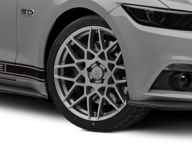 2013 GT500 Style Charcoal Wheel - 20x8.5 (15-19 GT, EcoBoost, V6)