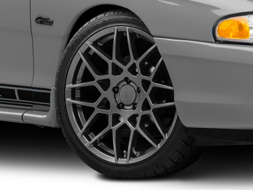 2013 GT500 Style Charcoal Wheel; 20x8.5 (94-98 All)