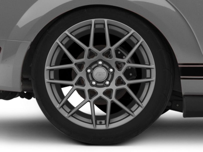 2013 GT500 Style Charcoal Wheel - 20x10 - Rear Only (05-09 All)
