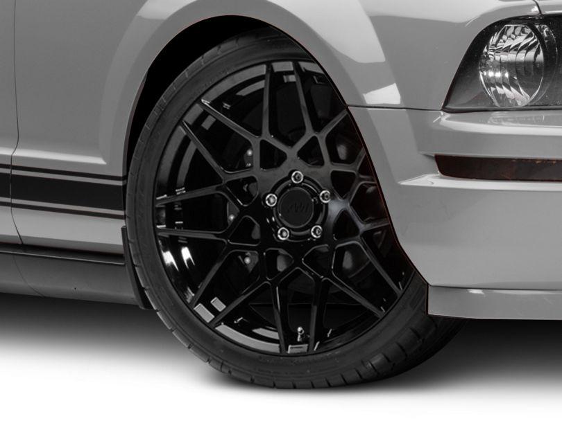 2013 GT500 Style Gloss Black Wheel - 20x8.5 (05-09 All)