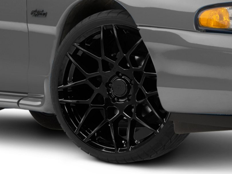2013 GT500 Style Gloss Black Wheel; 20x8.5 (94-98 All)
