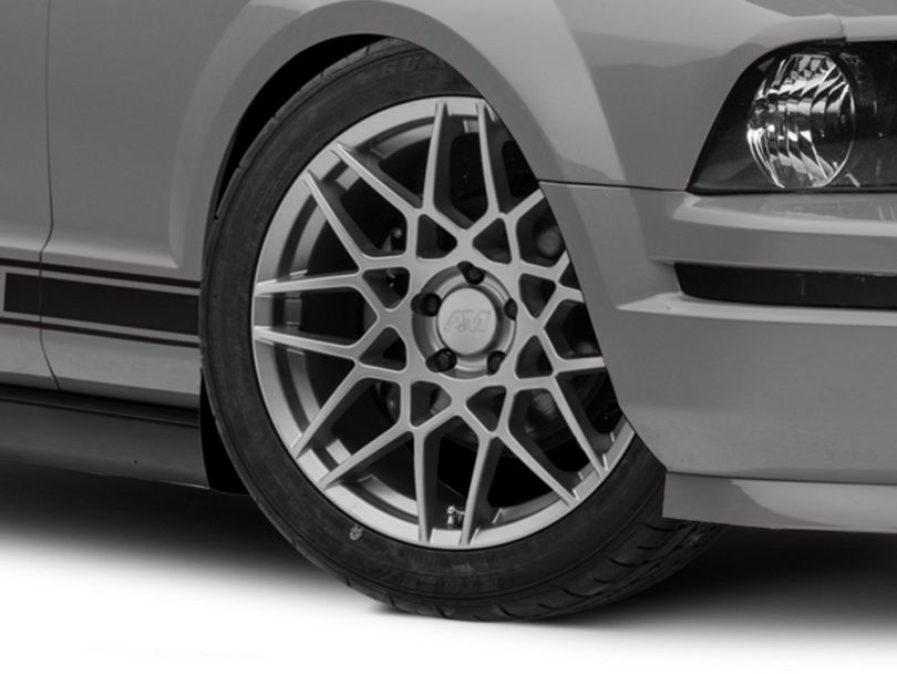 2013 GT500 Style Charcoal Wheel; 19x9.5 (05-09 All)