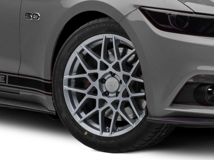 2013 GT500 Style Charcoal Wheel - 19x9.5 (15-19 GT, EcoBoost, V6)