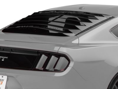 SpeedForm Aluminum Rear Window Louvers (15-19 Fastback)