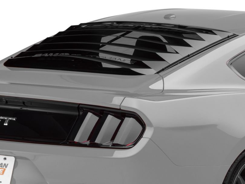 SpeedForm Aluminum Rear Window Louvers (15-20 Fastback)