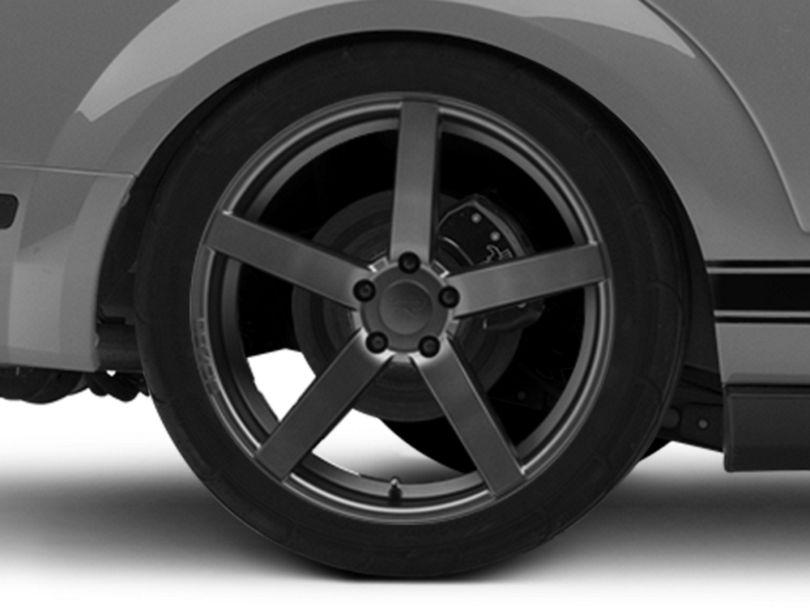 Rovos Durban Satin Gunmetal Wheel - 20x10 - Rear Only (05-09 All)