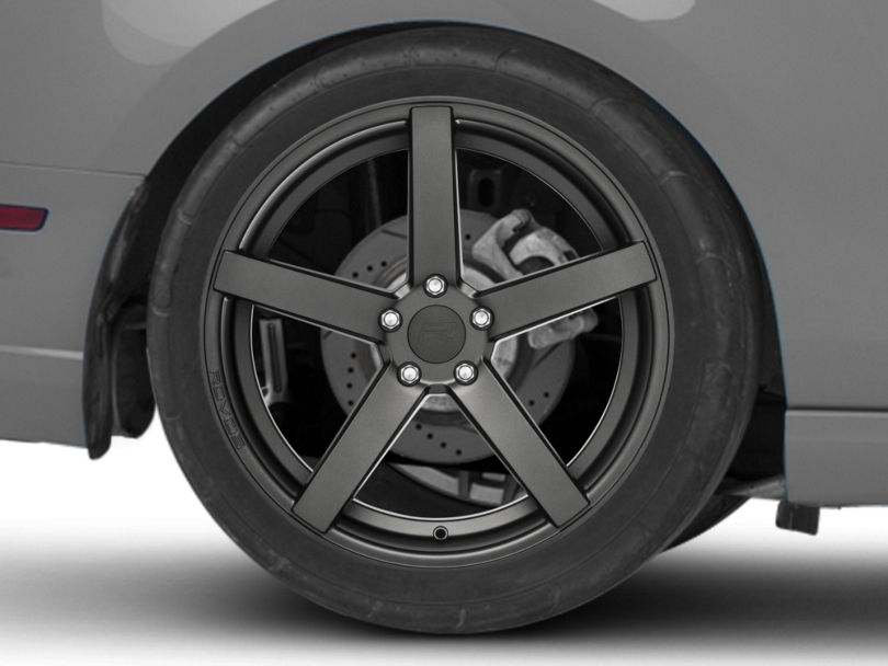 Rovos Durban Satin Gunmetal Wheel; Rear Only; 20x10 (10-14 All)