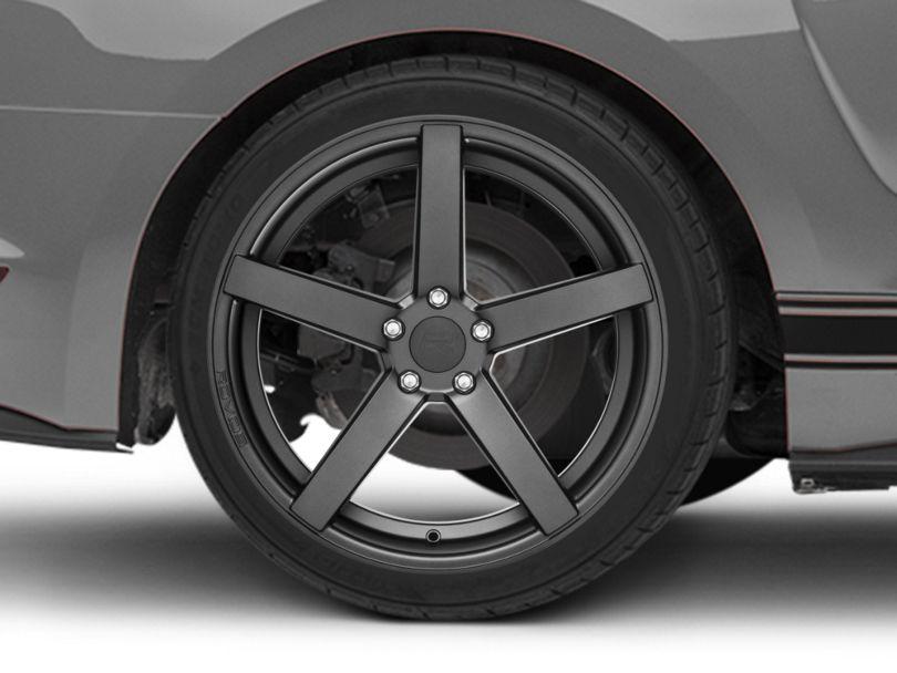 Rovos Durban Satin Gunmetal Wheel - 20x10 - Rear Only (15-20 GT, EcoBoost, V6)