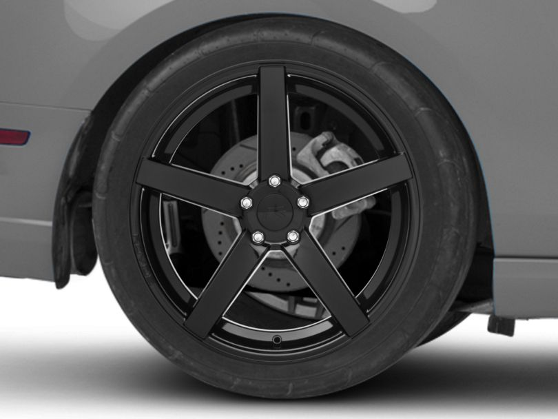 Rovos Durban Gloss Black Wheel - 20x10 - Rear Only (10-14 All)