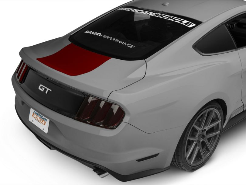 American Muscle Graphics Red Rear Decklid Accent (15-20 All)