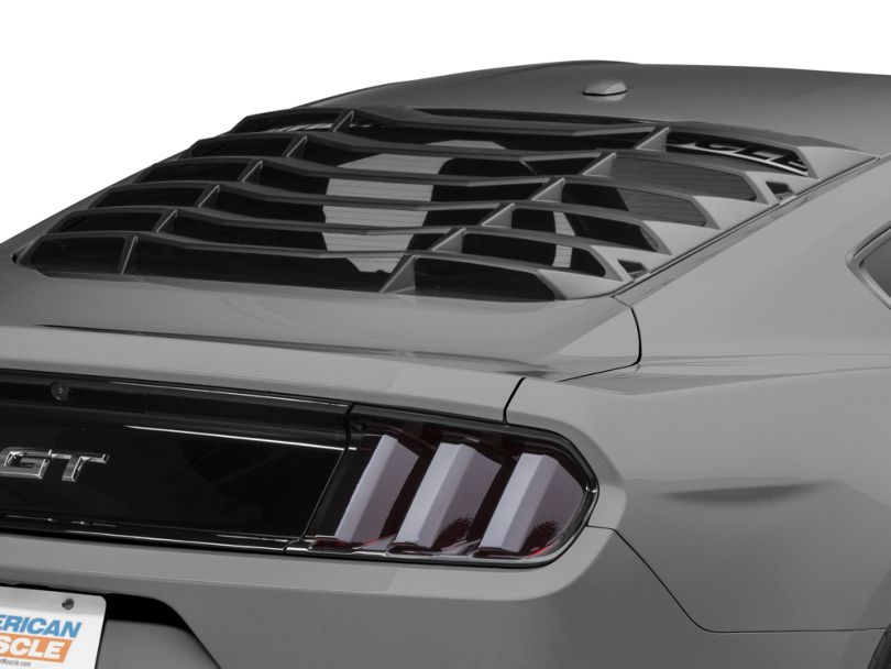 MMD ABS Rear Window Louvers (15-20 Fastback)