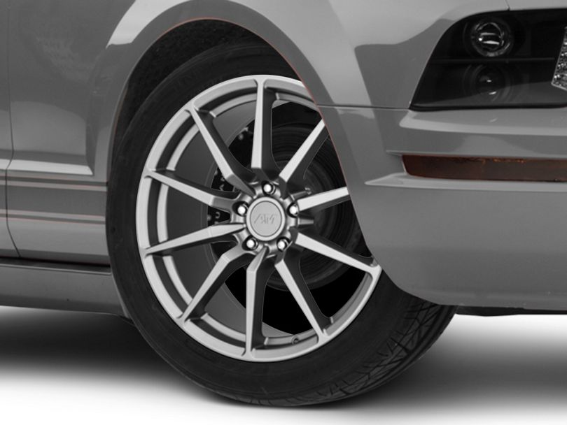 GT350 Style Charcoal Wheel - 19x8.5 (05-09 All)
