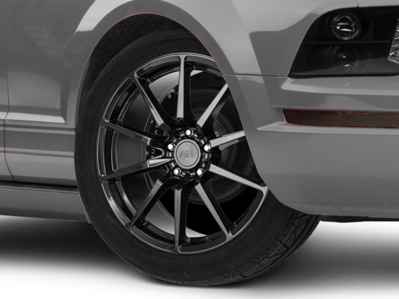 GT350 Style Black Wheel; 19x8.5 (05-09 All)