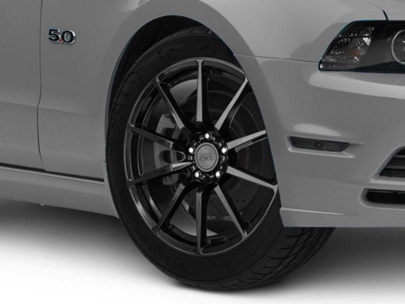 GT350 Style Black Wheel; 19x8.5 (10-14 All)