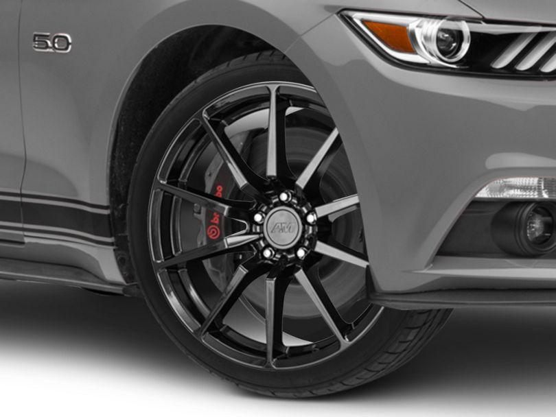 GT350 Style Black Wheel - 19x8.5 (15-20 GT, EcoBoost, V6)