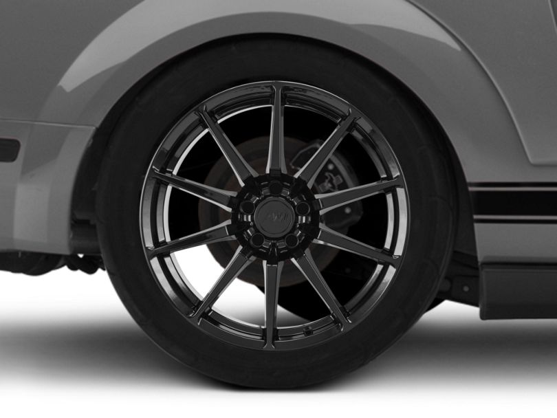 GT350 Style Black Wheel - 19x8.5 (05-09 All)