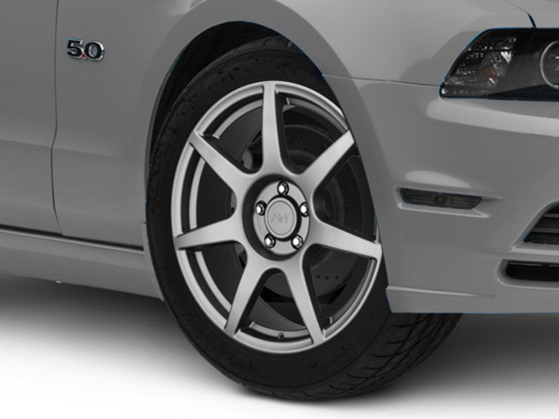 GT350R Style Charcoal Wheel; 19x8.5 (10-14 All)