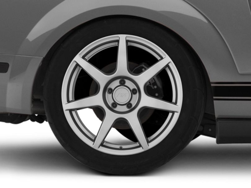 GT350R Style Charcoal Wheel - 19x10 - Rear Only (05-09 All)