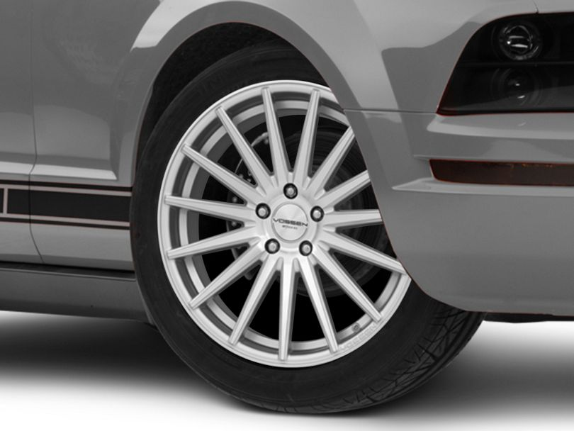 Vossen VFS-2 Silver Polished Wheel - 19x8.5 (05-09 GT, V6)