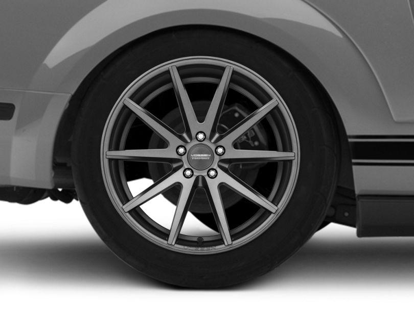 Vossen VFS-1 Matte Graphite Wheel - 19x10 - Rear Only (05-09 GT, V6)