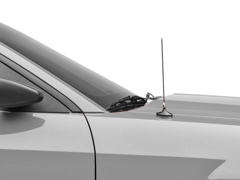 SpeedForm Adjustable Length Fixed Antenna - Chrome (79-09 All)