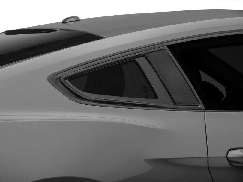 Saleen S302 Quarter Window Louvers (15-20 Fastback)