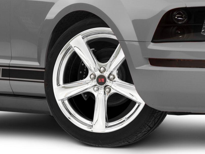 Saleen Secca Flo-Form Chrome Wheel - 20x9 (05-09 All)