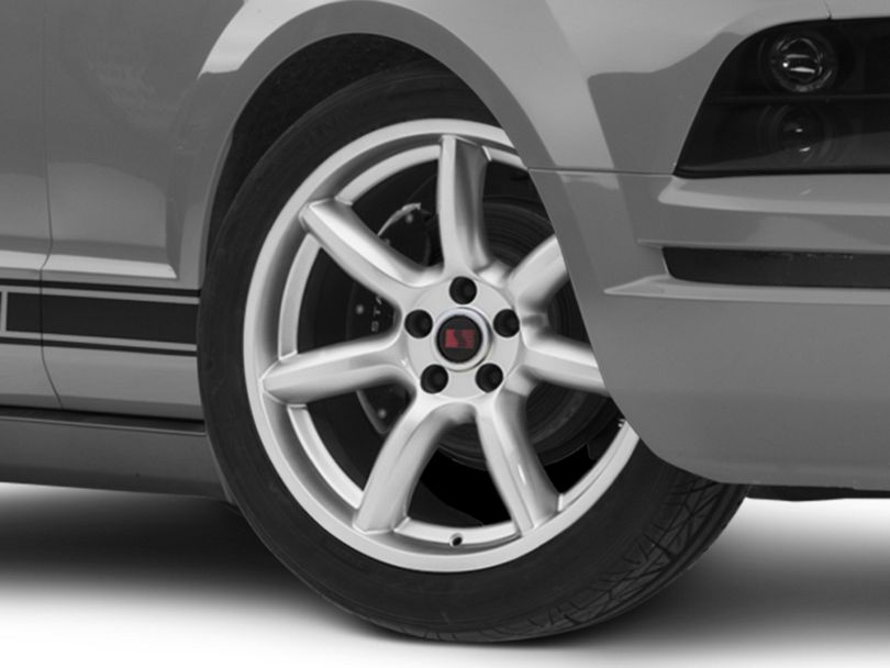 Saleen Minilite Style Silver Wheel; 19x9 (05-09 All)