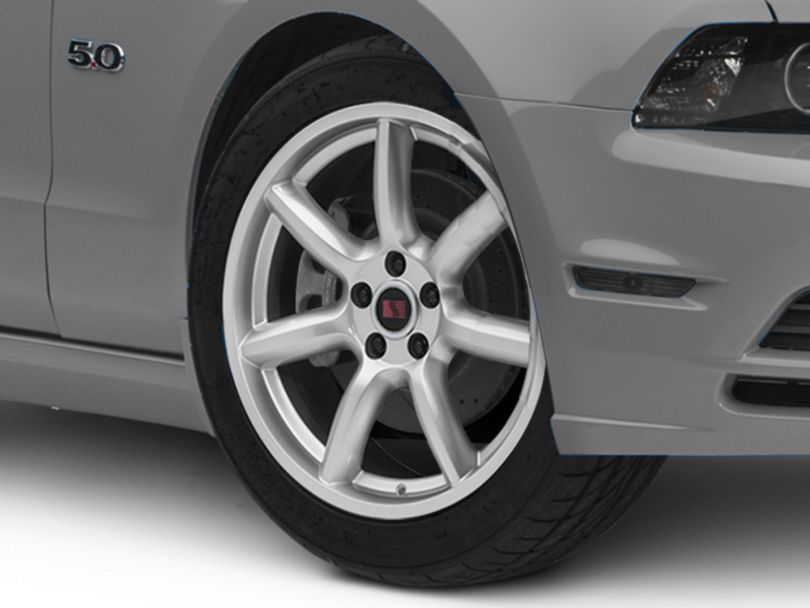 Saleen Minilite Style Silver Wheel; 19x9 (10-14 All)