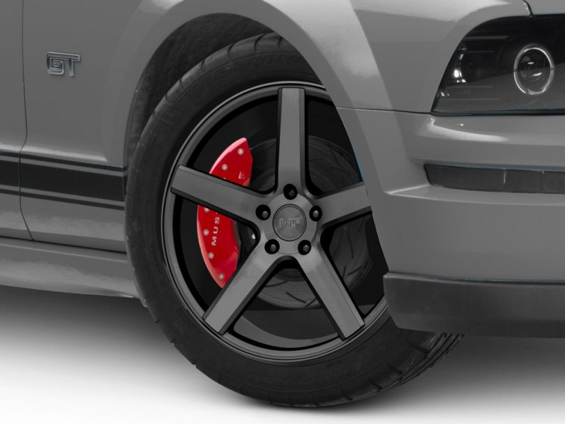 Niche Milan Silver Machined Wheel - 19x8.5 (05-09 All)