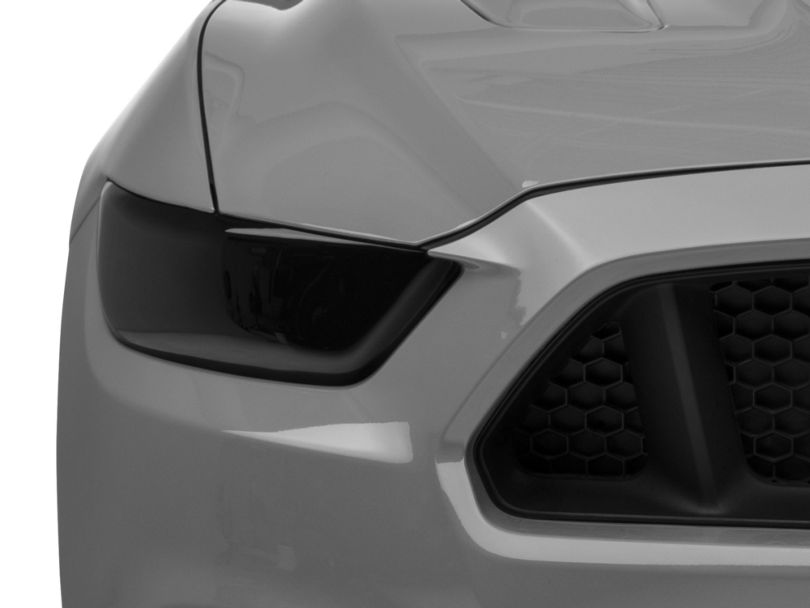 SpeedForm Smoked Headlight Covers (15-17 All; 18-20 GT350, GT500)