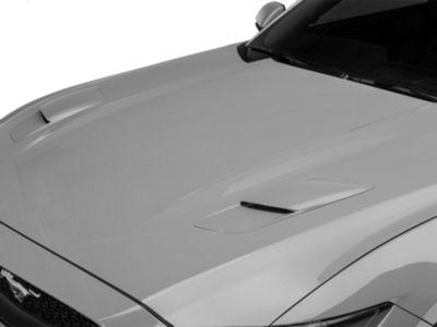 MMD Hood Vent Scoops - Pre-Painted (15-17 GT)