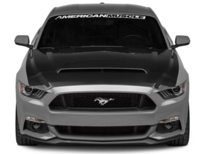 Anderson Composites Type-SN SuperSnake Style Hood - Double Sided Carbon Fiber (15-17 GT, EcoBoost, V6)