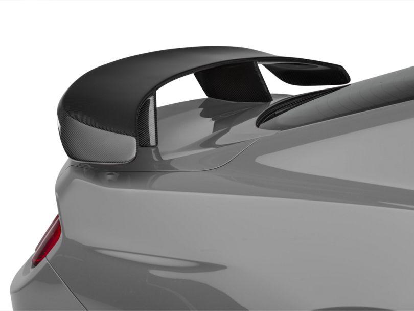 Anderson Composites Type-AT Rear Pedestal Spoiler - Carbon Fiber (15-19 Fastback)