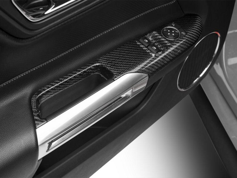 Trufiber Carbon Fiber Window Switch Covers (15-19 Fastback)