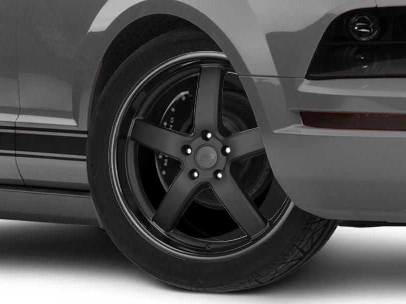 Niche Pantano Matte Black Wheel; 20x8.5 (05-09 All)