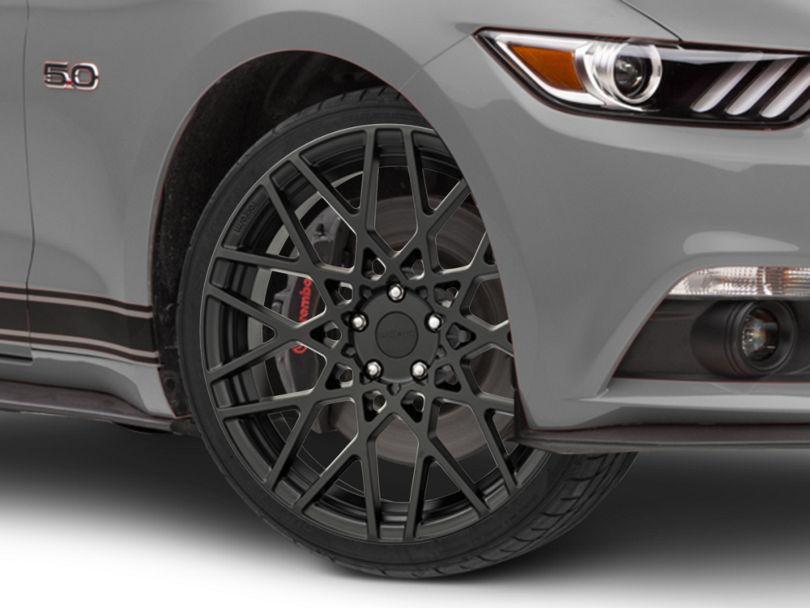 Rotiform BLQ Matte Black Wheel; 20x8.5 (15-20 GT, EcoBoost, V6)