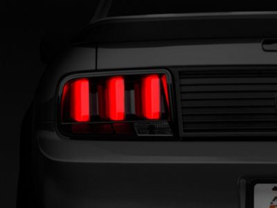 Add Raxiom Smoked Vector Tail Lights - Red Diffusers (05-09 All)