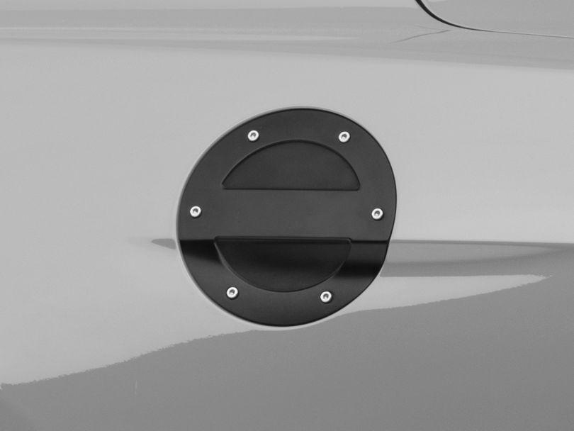 MMD Billet Aluminum Fuel Door; Black (15-20 All)