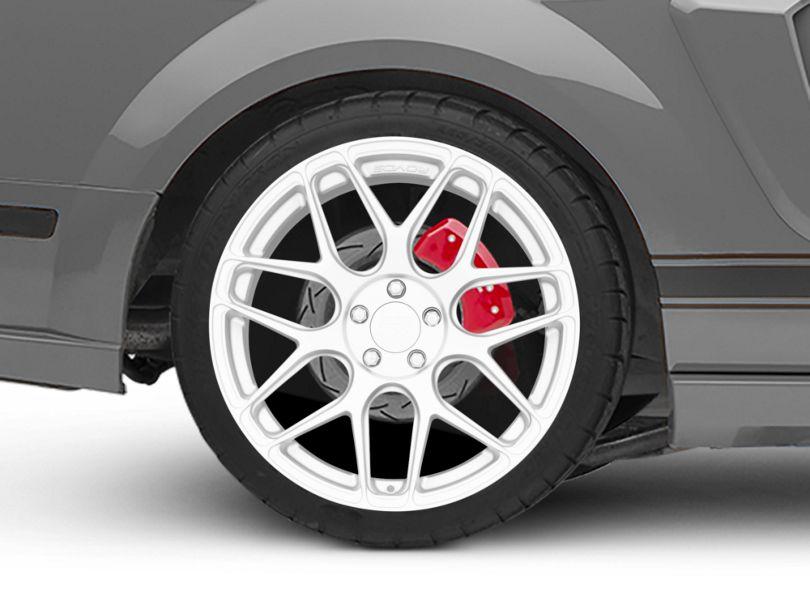 Rovos Pretoria Silver Wheel - 20x10 - Rear Only (05-09 All)
