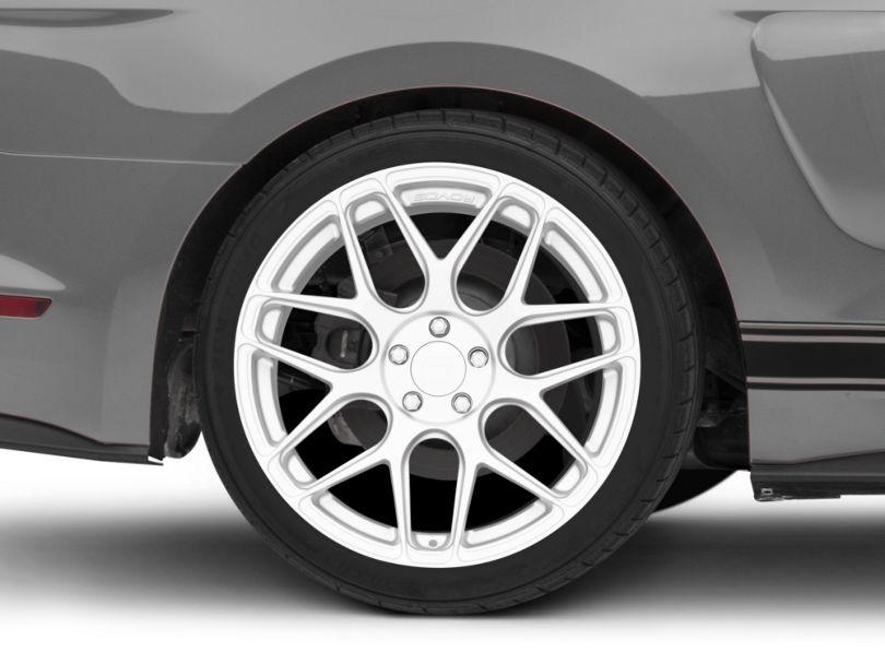 Rovos Pretoria Silver Wheel; Rear Only; 20x10 (15-20 GT, EcoBoost, V6)