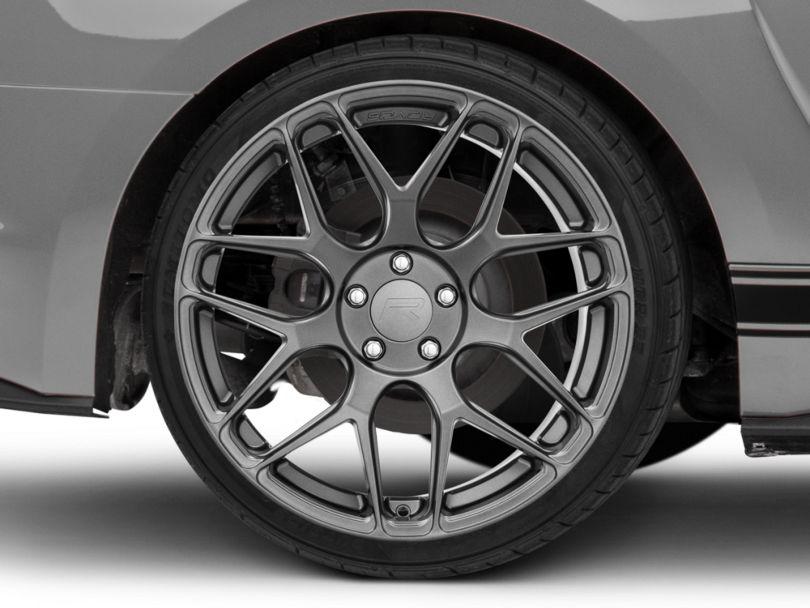 Rovos Pretoria Gunmetal Wheel; Rear Only; 20x10 (15-20 GT, EcoBoost, V6)