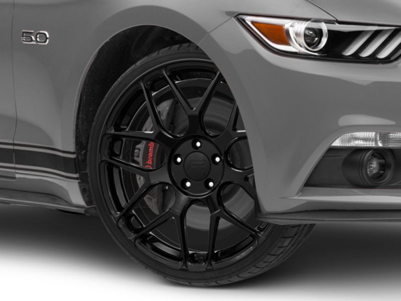 Rovos Pretoria Gloss Black Wheel - 20x8.5 (15-20 GT, EcoBoost, V6)