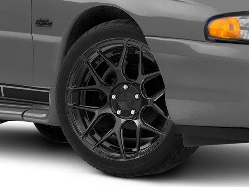 Rovos Pretoria Gloss Black Wheel; 18x9 (94-98 All)
