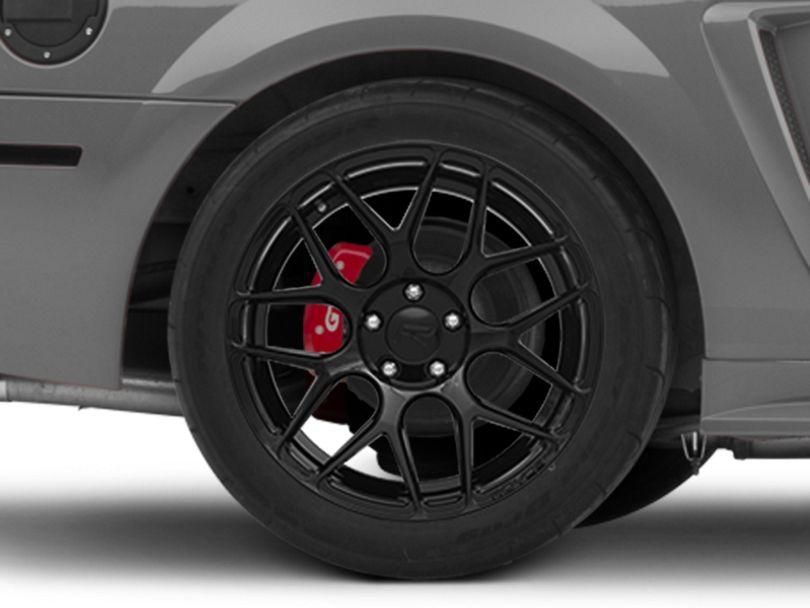 Rovos Pretoria Gloss Black Wheel; 18x9 (99-04 All)